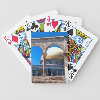 Jerusalem the Dome of the Rock Playing Cards