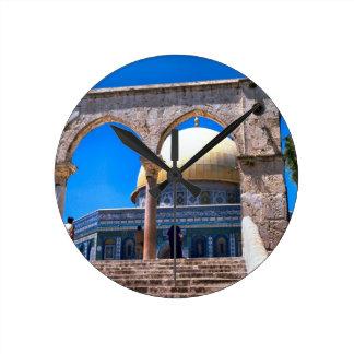 Jerusalem, the Dome of the Rock Wallclocks