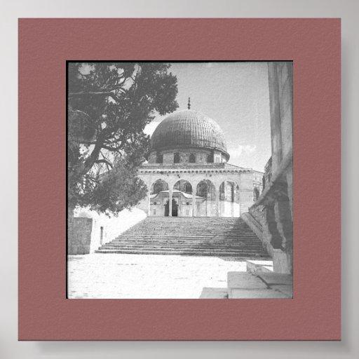 Jerusalem the Temple Poster