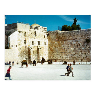 Jerusalem, the Western Wall Postcard