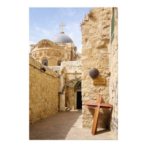 Jerusalem Via Dolorosa Station IX of the Cross Art Photo