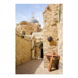 Jerusalem Via Dolorosa Station IX of the Cross Photograph