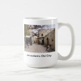 Jerusalem's Old City Basic White Mug