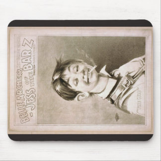 Jess of the Barz, 'The Kid' Retro Theater Mouse Pads