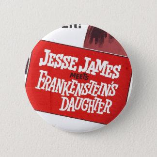 Jesse James Frankenstein Daughter button