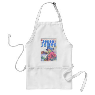 Jesse James Outlaw Aprons