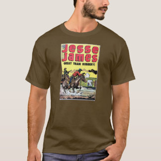 Jesse James Train Robbery T-Shirt
