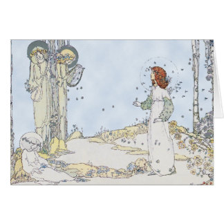 Jesse Marion King illustration Greeting Card