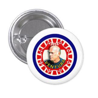 "Jesse ""The Body"" Ventura for president 2016 3 Cm Round Badge"