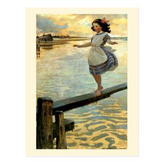"Jesse Willcox Smith's ""The Little Em'ly"" Postcard"