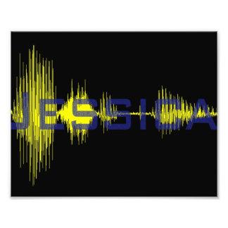 Jessica graphic art Sononome Photo Print