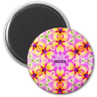 JESSICA ~ Personalized Easter Pattern Fractal ~ Magnet