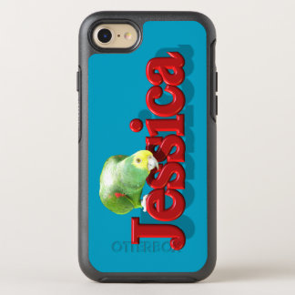 Jessica's Phone Case with Parrot
