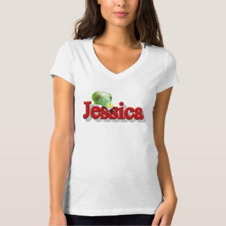 Jessica's Tee with Parrot