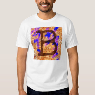 Jessie B Funky Monogram Style T T Shirts