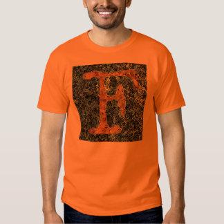 "Jessie Letter ""F"" Monogram Funky Artsy T-shirt! T Shirts"