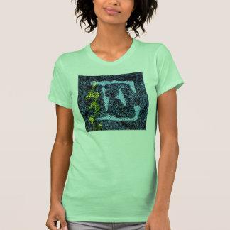 Jessie s Letter E Monogram with a Kick Artsy T-S T Shirts