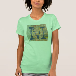 Jessie s Letter M Monogram T-Shirt with Flair