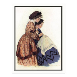 Jessie Willcox Smith - Jo and Beth Postcard