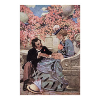 Jessie Willcox Smith - Laurie and Amy Poster