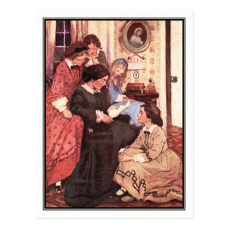 Jessie Willcox Smith - Little Women Postcard