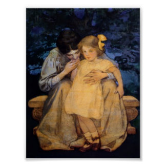 Jessie Willcox Smith Mother and Child Mother's Day Poster