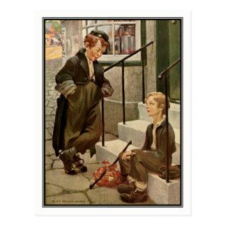 Jessie Willcox Smith - Oliver Twist Postcard