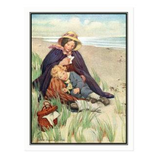 Jessie Willcox Smith - The Seaside Postcard