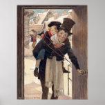 Jessie Willcox Smith - Tiny Tim on Christmas Day Poster