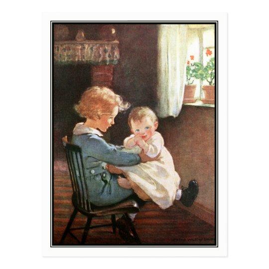 Jessie Willcox Smith - Vintage Boy and Baby