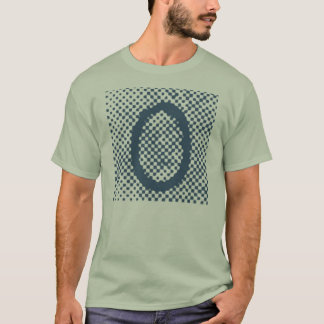 "Jessie's Letter ""O"" Monogram T-Shirt with Halftone"