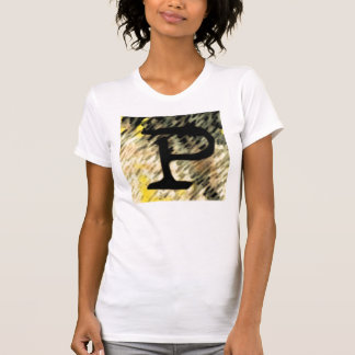 "Jessie's Letter ""P"" Monogram T-shirt"