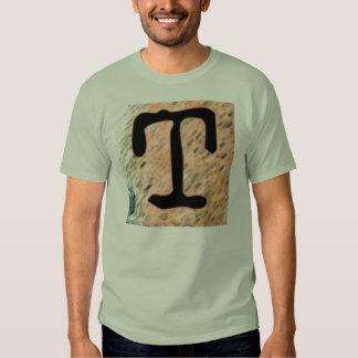 "Jessie's Letter ""T"" Monogram Funky T-shirt"