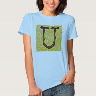 "Jessie's Letter ""U"" Monogram T-Shirt"