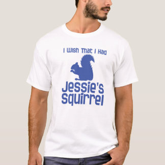 Jessie's Squirrel Light Color Tee Shirt