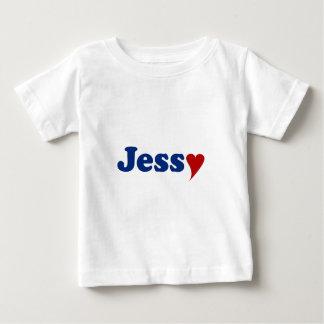 Jessy with Heart Tshirt