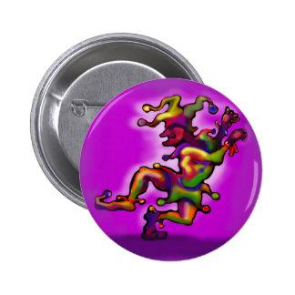 Jester 6 Cm Round Badge