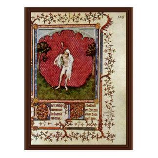Jester By Hesdin Jacquemart De (Best Quality) Postcard