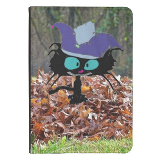 Jester Cat Plays On A Fall Day Kindle Cover