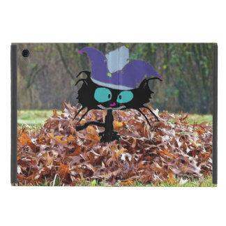 Jester Cat Plays On A Fall Day Case For iPad Mini