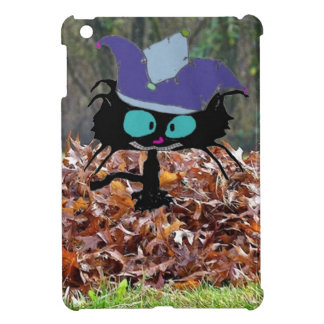Jester Cat Plays On A Fall Day iPad Mini Cases