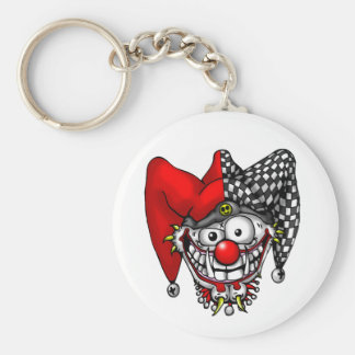 Jester Face Keychain