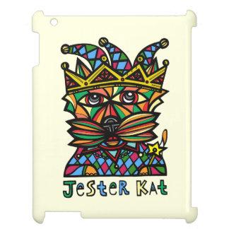 """""""Jester Kat"""" 631 Art iPad Case"""