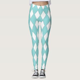 Jester-Mod-Diamond's-Blue-Design's LEGGING'S_XS-XL Leggings
