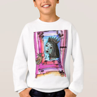 Jester sings the blues sweatshirt