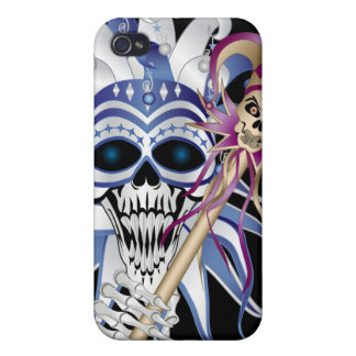 Jester Skull iPhone 4 Covers