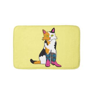 Jester the cat bath mats