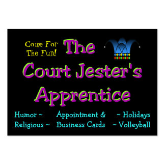 Jester's Calling Card Pack Of Chubby Business Cards