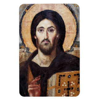 Jesucristo icono religioso Cocina Rectangular Photo Magnet