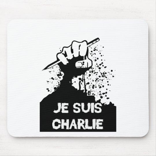 Jesuis Charlie (Zombie Edition) Mouse Mat